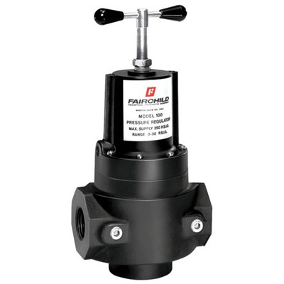 Model 100 High Flow Regulator, 2-100 psi