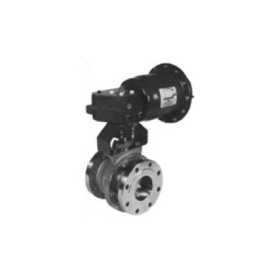 Series 5000 Flanged Ball Valve, 1/2in CS