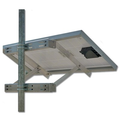 Solar Panel Pole/Tower Mount, 125/150W
