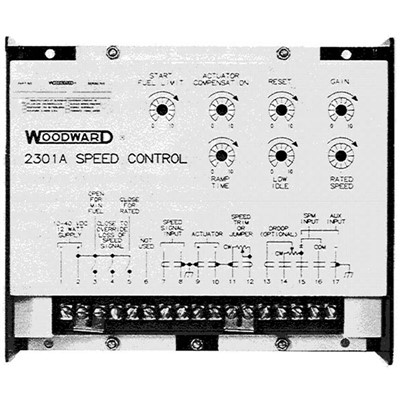 Speed Controller, 2301A, (Analog)