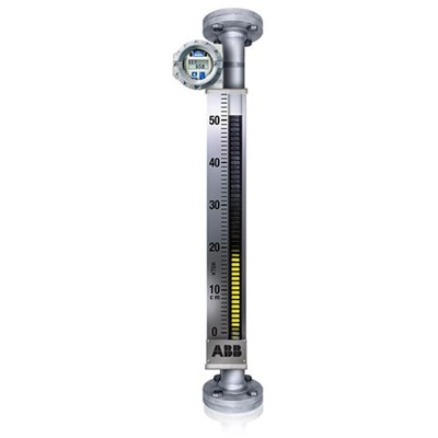 Magnetic Level Gauge, SS, 54in