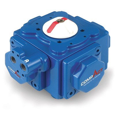 COMPACT Spring Return Pneumatic Actuator