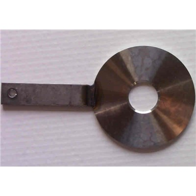 Orifice Plate, Paddle, 4 in X 0.625