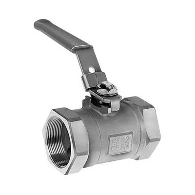 Series 3000 Ball Valve, 1/2in NPT, CS
