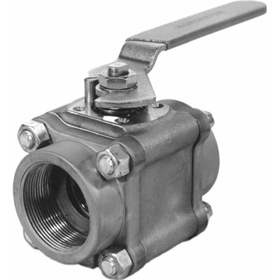 Series 44 Three Piece Ball Valve, 1 in