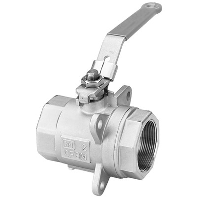 Series 5H Ball Valve, 1/2in NPT, SS