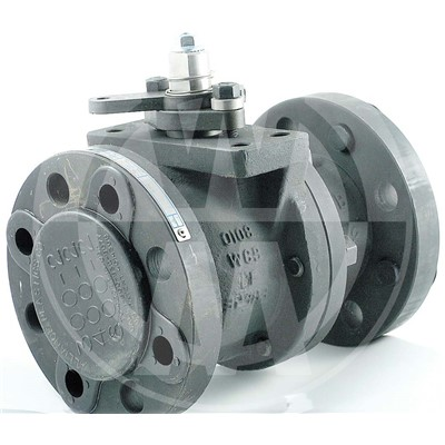 Series 9000 Flanged Ball Valve, 1in, CS