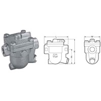 J3S-X-10 Steam Trap + 1/4in Drain Plug